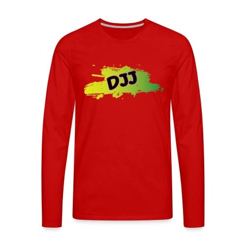 DJJ Green splash - Men's Premium Long Sleeve T-Shirt