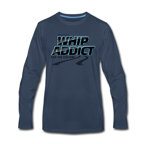 WhipAddict Black - Men's Premium Long Sleeve T-Shirt