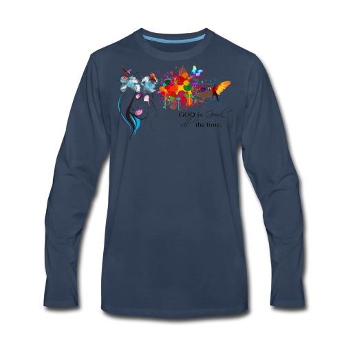god is good - Men's Premium Long Sleeve T-Shirt