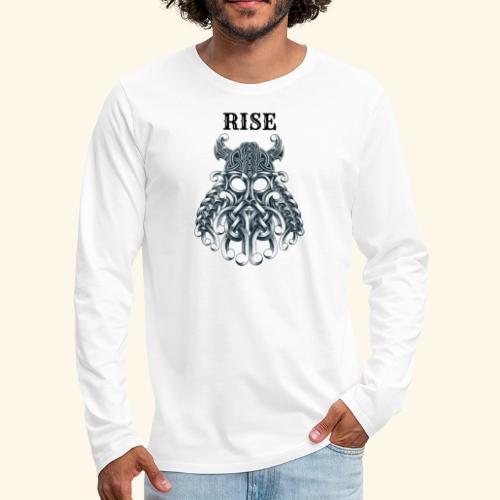 RISE CELTIC WARRIOR - Men's Premium Long Sleeve T-Shirt