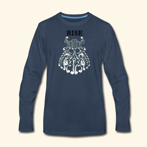 RISE CELTIC WARRIOR - Men's Premium Long Sleeve T-Shirt