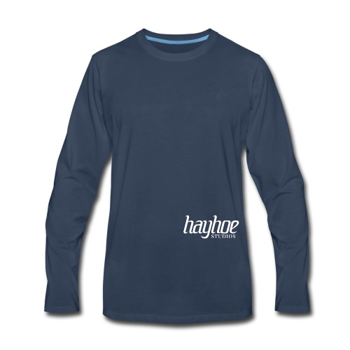 Hayhoe Studios Logo - Men's Premium Long Sleeve T-Shirt