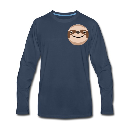 Slothy and Tyler official - Men's Premium Long Sleeve T-Shirt
