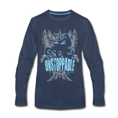 ATV Quad Unstoppable - Men's Premium Long Sleeve T-Shirt