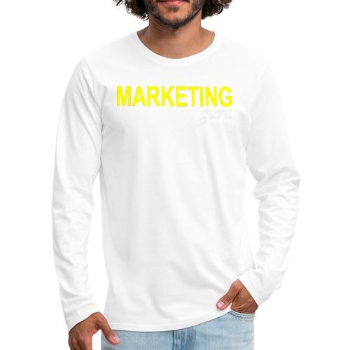 Marketing Guru - Men's Premium Long Sleeve T-Shirt