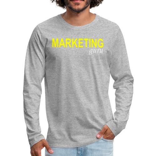 Marketing Guru - Men's Premium Long Sleeve T-Shirt
