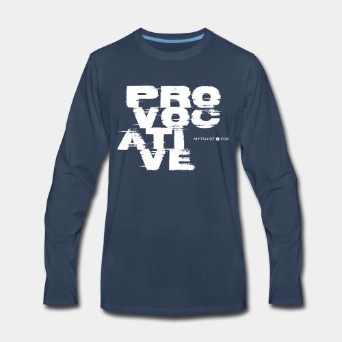provocative design style - Men's Premium Long Sleeve T-Shirt