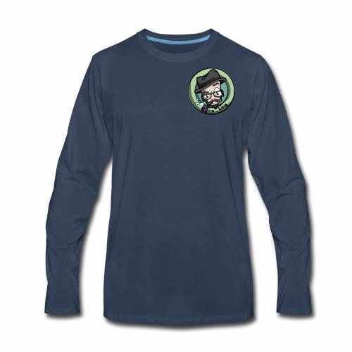 VexLogo - Men's Premium Long Sleeve T-Shirt