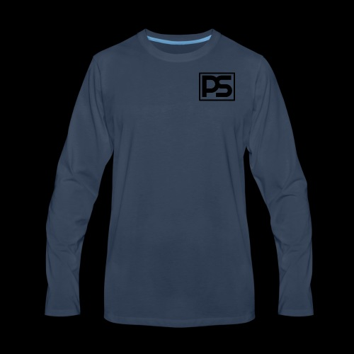 PS Logo - Men's Premium Long Sleeve T-Shirt