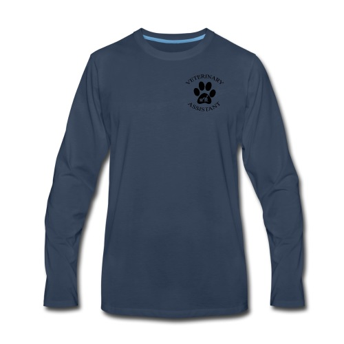 Vet Asst - Men's Premium Long Sleeve T-Shirt