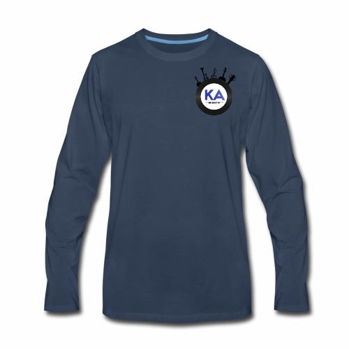 Official KAM Logo - Men's Premium Long Sleeve T-Shirt