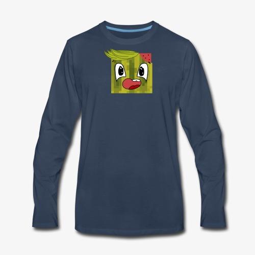 rangerone07 cartoon head - Men's Premium Long Sleeve T-Shirt
