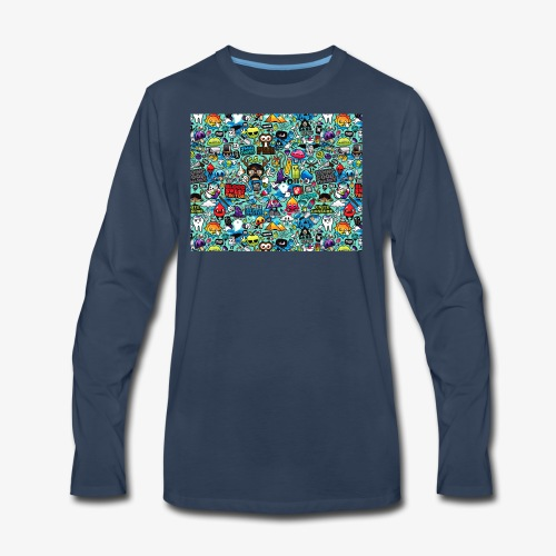 Wild Thoughts - Men's Premium Long Sleeve T-Shirt