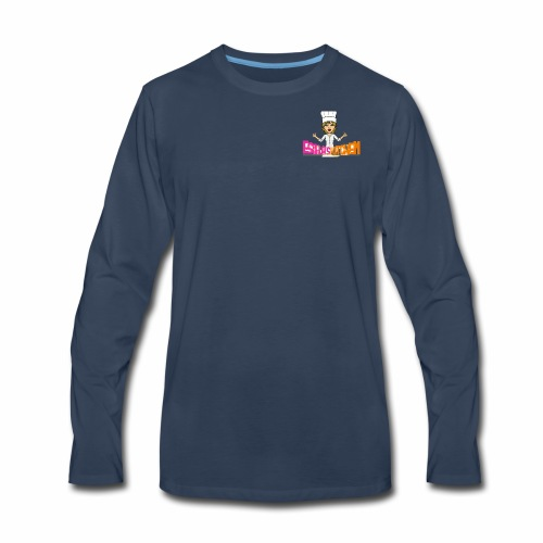 Estela Nena's Kitchen - Men's Premium Long Sleeve T-Shirt