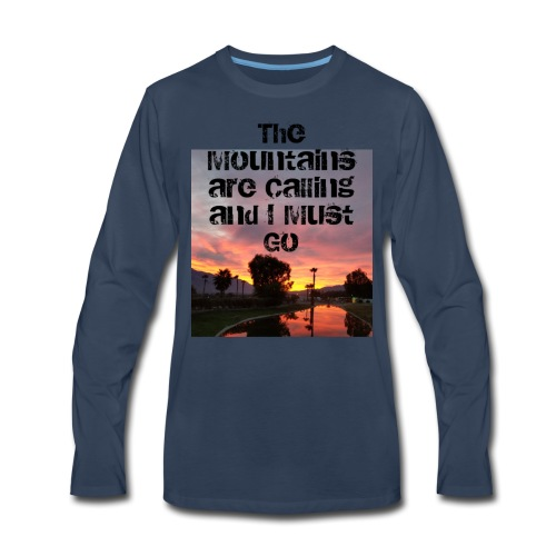 mountains - Men's Premium Long Sleeve T-Shirt
