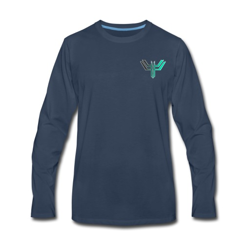 iL Era Tiny Logo - Men's Premium Long Sleeve T-Shirt