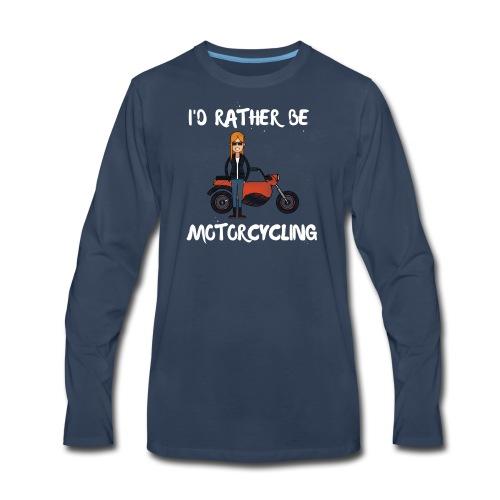 Motorbike - Men's Premium Long Sleeve T-Shirt