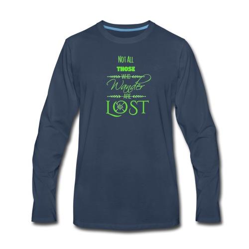 LTBA Wander - Men's Premium Long Sleeve T-Shirt