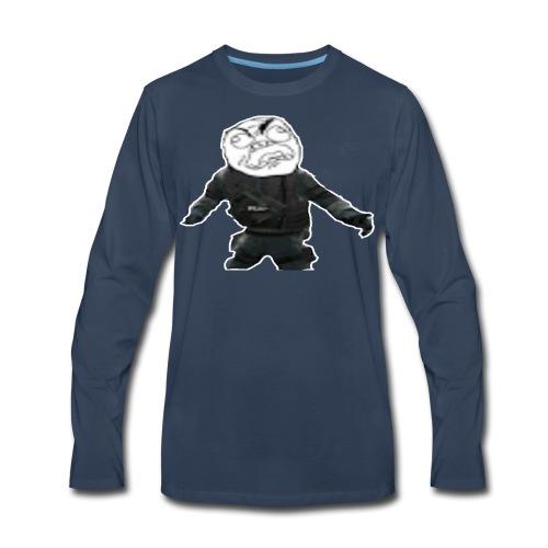Stay Angry Logo - Men's Premium Long Sleeve T-Shirt