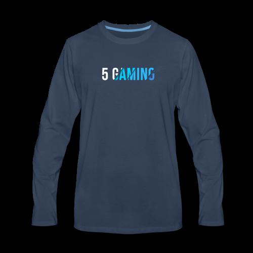 5 Gaming Blue - Men's Premium Long Sleeve T-Shirt