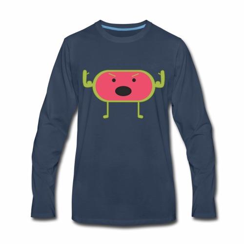 Angry Watermelon - Men's Premium Long Sleeve T-Shirt