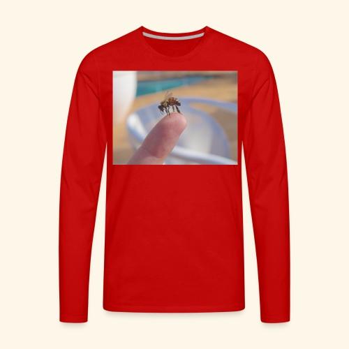 bee - Men's Premium Long Sleeve T-Shirt