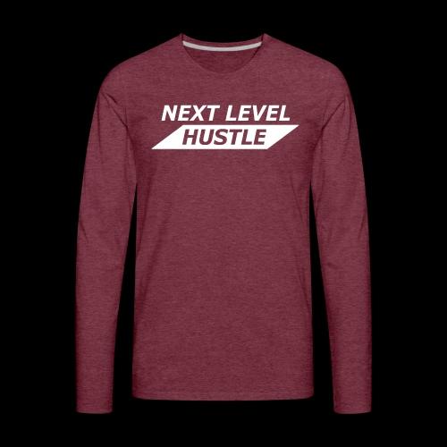 NEXT LEVEL HUSTLE - Men's Premium Long Sleeve T-Shirt