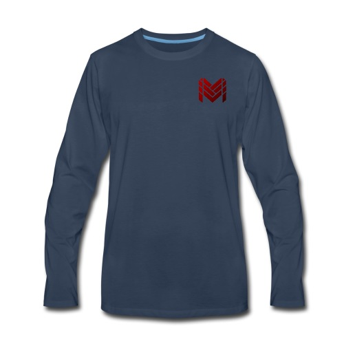 Malikan Logo (Small) - Men's Premium Long Sleeve T-Shirt