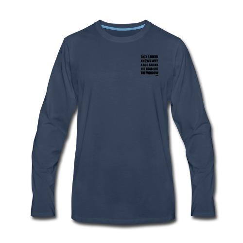 DOG VECTOR - Men's Premium Long Sleeve T-Shirt