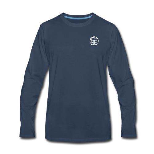 Global Goons White moto - Men's Premium Long Sleeve T-Shirt