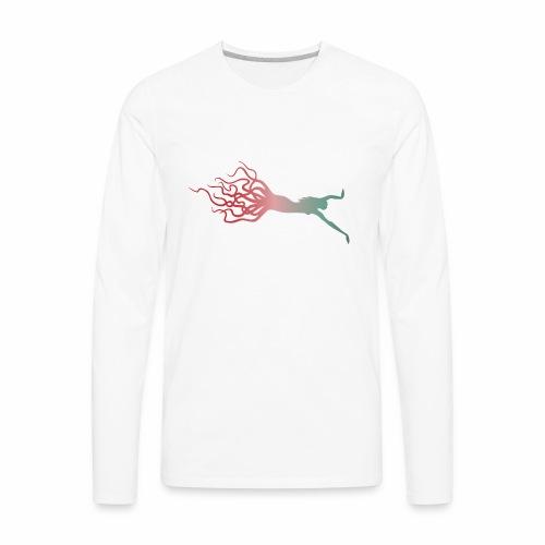 Octowoman fade - Men's Premium Long Sleeve T-Shirt