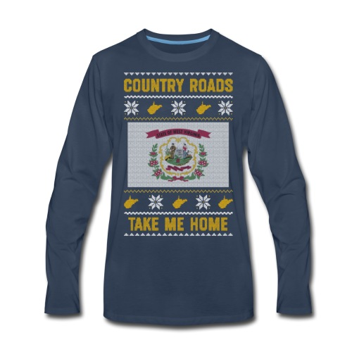 country roads - Men's Premium Long Sleeve T-Shirt
