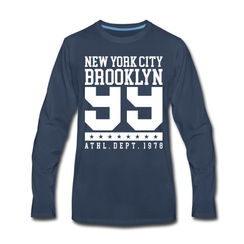 new york city brooklyn - Men's Premium Long Sleeve T-Shirt
