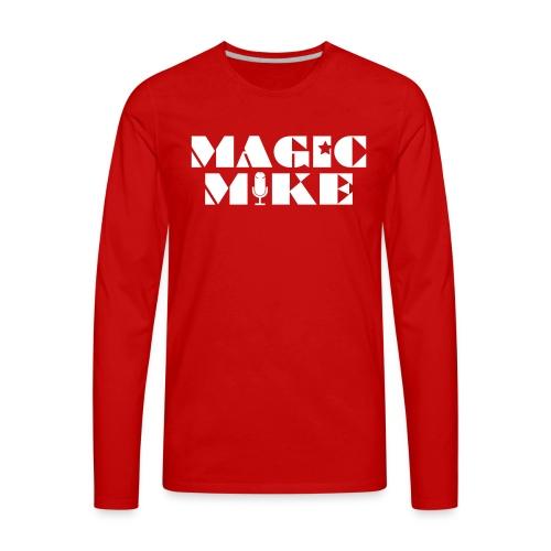 Magic Mike T-Shirt - Men's Premium Long Sleeve T-Shirt