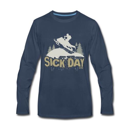 Snowmobiling Sick Day - Men's Premium Long Sleeve T-Shirt