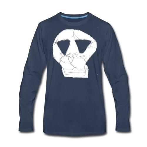 skull logo - Men's Premium Long Sleeve T-Shirt