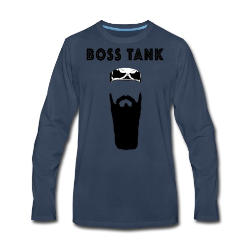 Beard Bandana MERCH - Men's Premium Long Sleeve T-Shirt