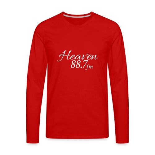 Heaven 88.7 - Men's Premium Long Sleeve T-Shirt