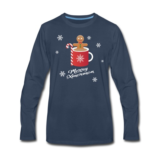 Merry Xmormon - Men's Premium Long Sleeve T-Shirt