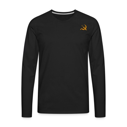 USSR logo - Men's Premium Long Sleeve T-Shirt