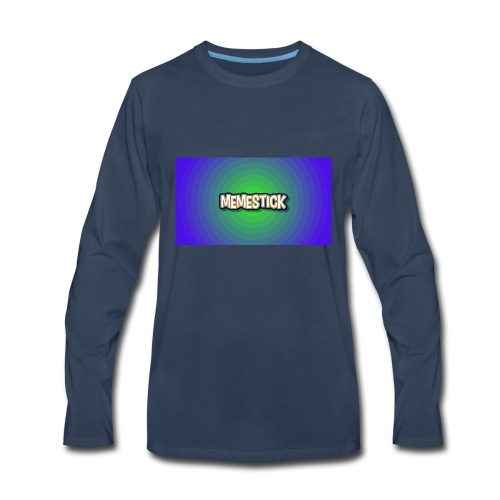 memestick symbol - Men's Premium Long Sleeve T-Shirt