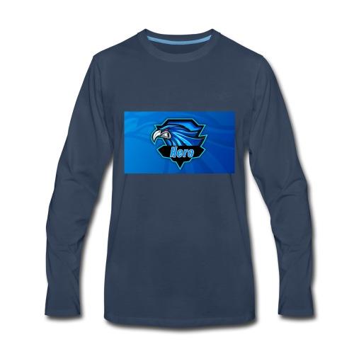 Hero Clan Logo - Men's Premium Long Sleeve T-Shirt