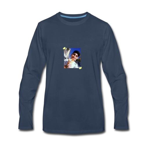 WITH PIC - Men's Premium Long Sleeve T-Shirt