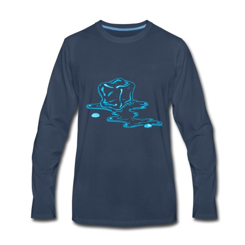 Ice melts - Men's Premium Long Sleeve T-Shirt