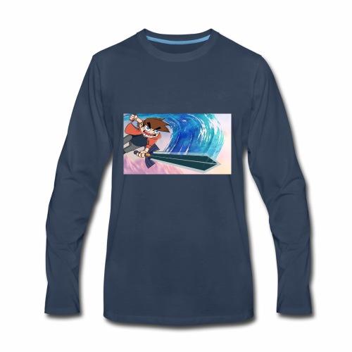 Funnerdiction fantasy - Men's Premium Long Sleeve T-Shirt