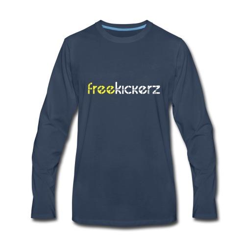 kicker Logo 1 - Men's Premium Long Sleeve T-Shirt