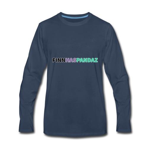 FinnHasPandaz Logo - Men's Premium Long Sleeve T-Shirt