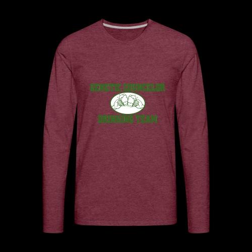 genetic counselor drinking team - Men's Premium Long Sleeve T-Shirt