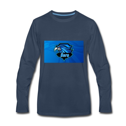 Hero Clan Logo - Men's Premium Long Sleeve T-Shirt