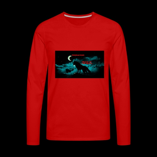 death - Men's Premium Long Sleeve T-Shirt